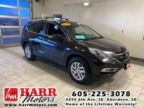 2016 Honda CR-V for sale at Harr's Redfield Ford in Redfield SD