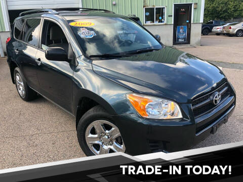 2009 Toyota RAV4 for sale at L A Used Cars in Abington MA