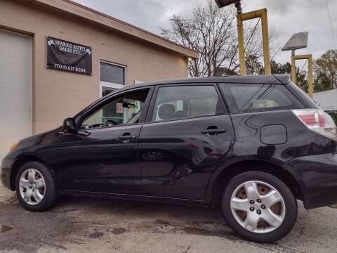 2006 Toyota Matrix for sale at Sparks Auto Sales Etc in Alexis NC