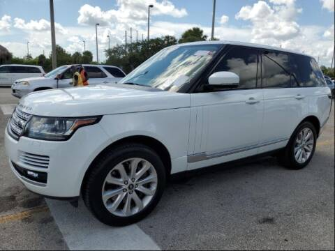2013 Land Rover Range Rover for sale at AUTOSPORT MOTORS in Lake Park FL