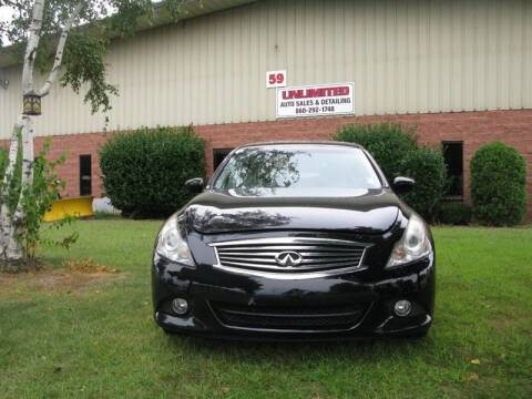 2011 Infiniti G37 Sedan for sale at Unlimited Auto Sales & Detailing, LLC in Windsor Locks CT