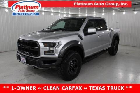 2017 Ford F-150 for sale at Platinum Auto Group Inc. in Minster OH