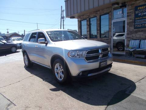 2011 Dodge Durango for sale at Preferred Motor Cars of New Jersey in Keyport NJ