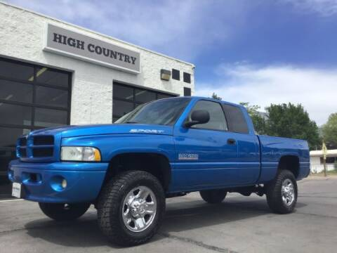 1999 Dodge Ram Pickup 2500 for sale at High Country Motor Co in Lindon UT