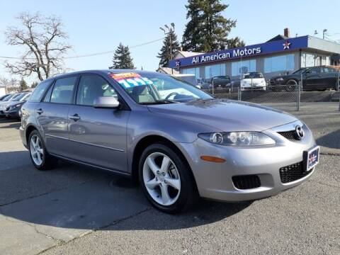 2006 Mazda MAZDA6 for sale at All American Motors in Tacoma WA