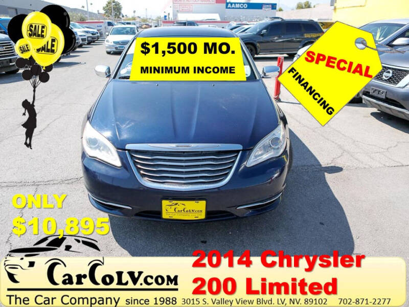 2014 Chrysler 200 for sale at The Car Company in Las Vegas NV