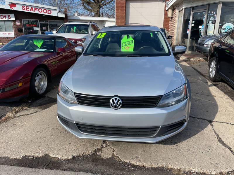 2013 Volkswagen Jetta for sale at Frank's Garage in Linden NJ