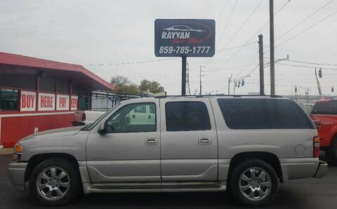 2005 GMC Yukon XL for sale at Rayyan Auto Sales LLC in Lexington KY