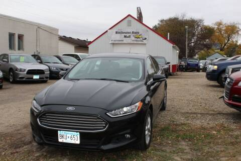 2014 Ford Fusion for sale at Rochester Auto Mall in Rochester MN
