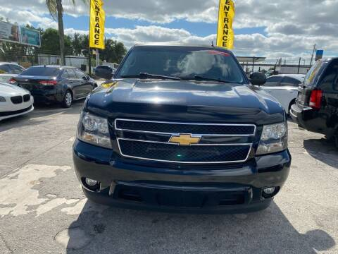 2013 Chevrolet Tahoe for sale at America Auto Wholesale Inc in Miami FL
