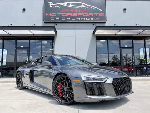 2018 Audi R8 for sale at Exotic Motorsports of Oklahoma in Edmond OK