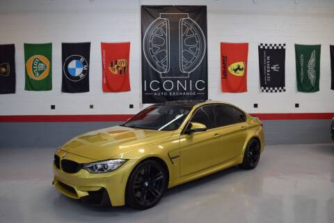 2015 BMW M3 for sale at Iconic Auto Exchange in Concord NC
