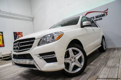 2015 Mercedes-Benz M-Class for sale at AUTO IMPORTS MIAMI in Fort Lauderdale FL