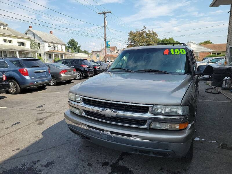 2002 Chevrolet Suburban for sale at Roy's Auto Sales in Harrisburg PA