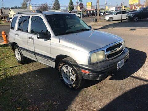 2003 Chevrolet Tracker for sale at Chuck Wise Motors in Portland OR