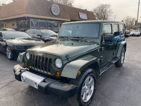 2008 Jeep Wrangler Unlimited for sale at Billy Auto Sales in Redford MI