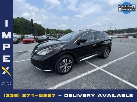 2020 Nissan Murano for sale at Impex Auto Sales in Greensboro NC