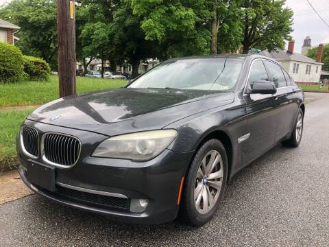 2011 BMW 7 Series for sale at Crestwood Auto Center in Richmond VA