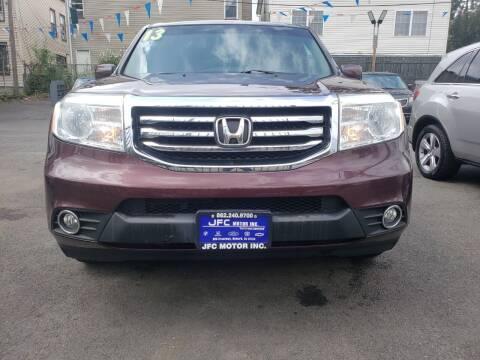 2013 Honda Pilot for sale at JFC Motors Inc. in Newark NJ