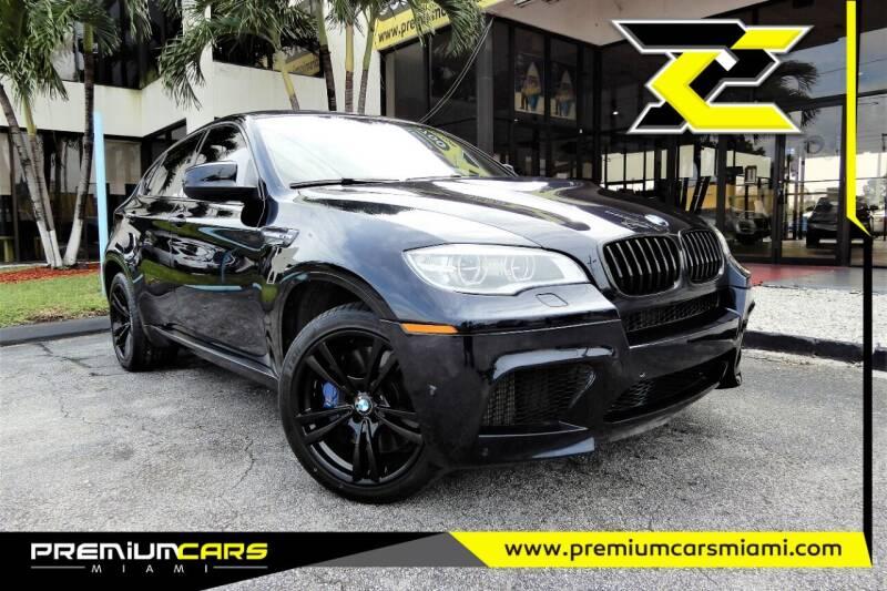 2014 BMW X6 M for sale at Premium Cars of Miami in Miami FL
