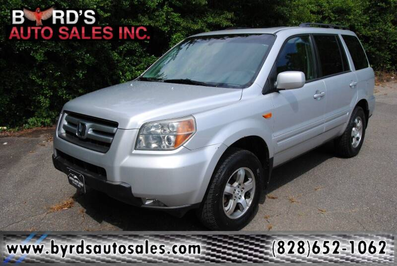 2007 Honda Pilot for sale at Byrds Auto Sales in Marion NC