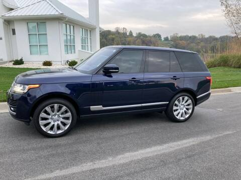 2016 Land Rover Range Rover for sale at Car Connections in Kansas City MO