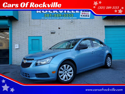 2011 Chevrolet Cruze for sale at Cars Of Rockville in Rockville MD