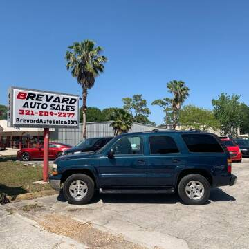 2005 Chevrolet Tahoe for sale at Brevard Auto Sales in Palm Bay FL