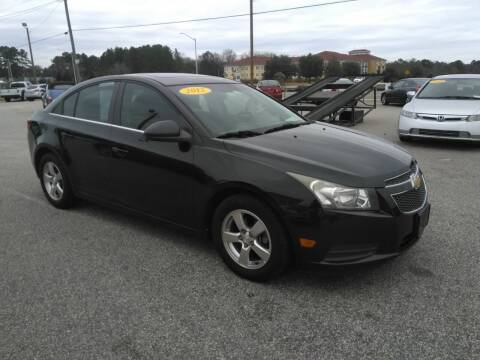 2012 Chevrolet Cruze for sale at Kelly & Kelly Supermarket of Cars in Fayetteville NC