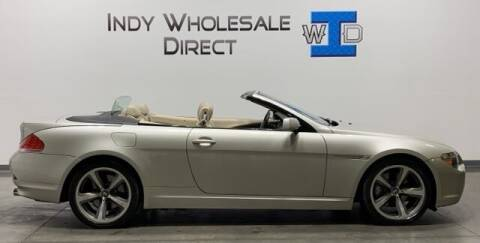 2005 BMW 6 Series for sale at Indy Wholesale Direct in Carmel IN