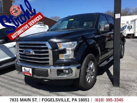 2016 Ford F-150 for sale at Strohl Automotive Services in Fogelsville PA