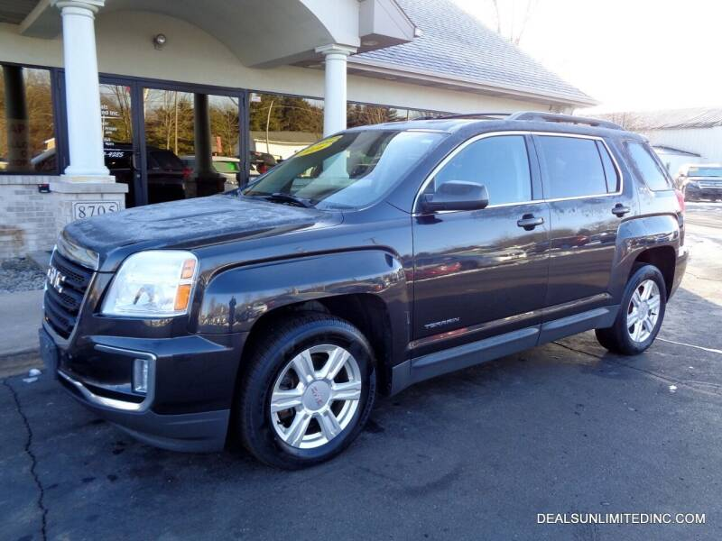2016 GMC Terrain for sale at DEALS UNLIMITED INC in Portage MI