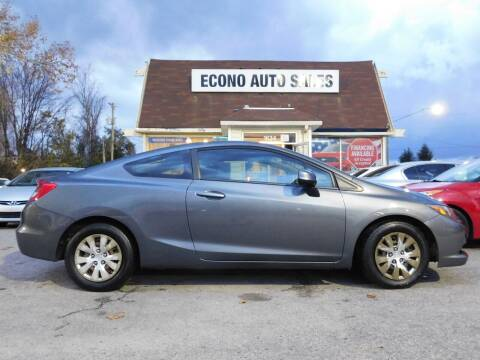 2012 Honda Civic for sale at Econo Auto Sales Inc in Raleigh NC