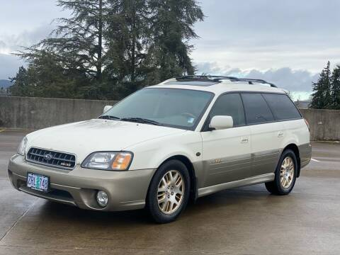 2003 Subaru Outback for sale at Rave Auto Sales in Corvallis OR