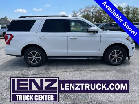 2018 Ford Expedition for sale at LENZ TRUCK CENTER in Fond Du Lac WI