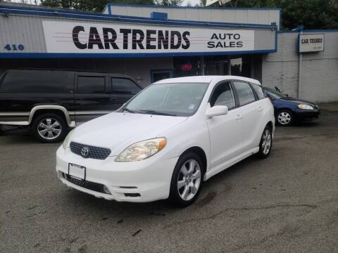 2003 Toyota Matrix for sale at Car Trends 2 in Renton WA