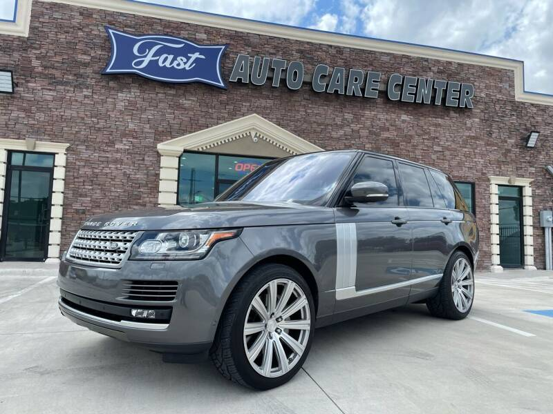 2016 Land Rover Range Rover for sale at Italy Auto Sales in Dallas TX
