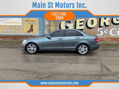 2012 Mercedes-Benz C-Class for sale at Main St Motors Inc. in Sheridan IN