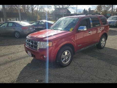 2008 Ford Escape for sale at Colonial Motors in Mine Hill NJ