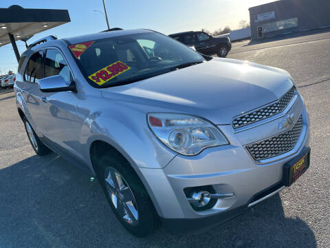 2015 Chevrolet Equinox for sale at Top Line Auto Sales in Idaho Falls ID