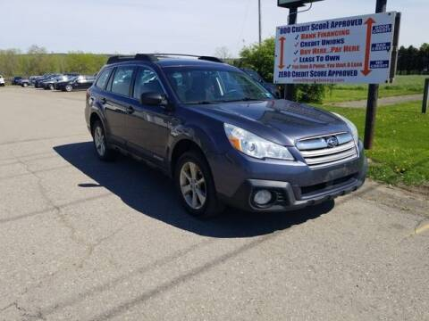 2014 Subaru Outback for sale at Sensible Sales & Leasing in Fredonia NY