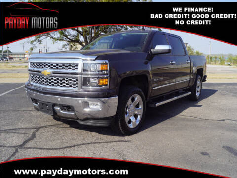 2014 Chevrolet Silverado 1500 for sale at Payday Motors in Wichita And Topeka KS