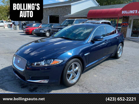 2013 Jaguar XF for sale at BOLLING'S AUTO in Bristol TN