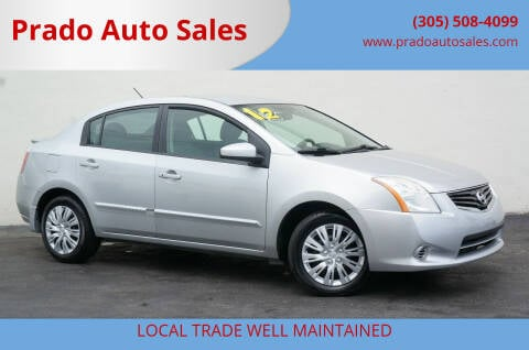 2012 Nissan Sentra for sale at Prado Auto Sales in Miami FL