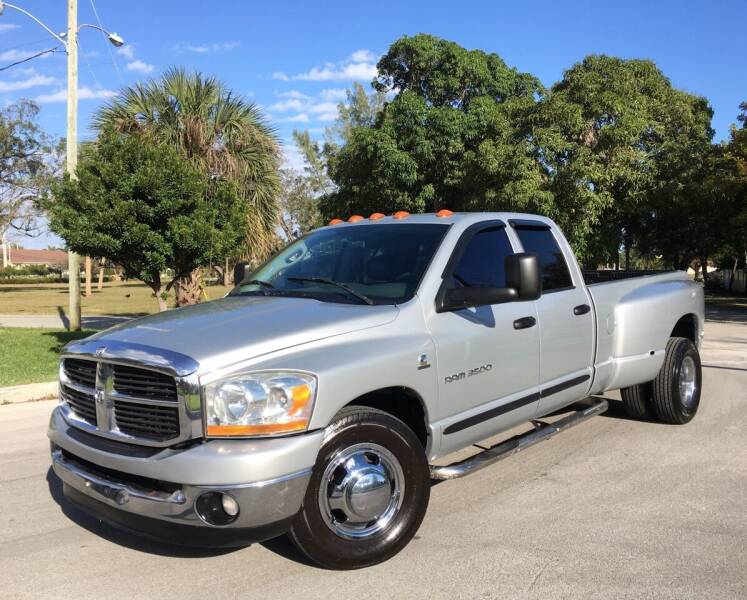 2006 Dodge Ram Pickup 3500 for sale at FIRST FLORIDA MOTOR SPORTS in Pompano Beach FL