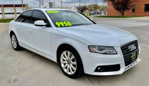 2010 Audi A4 for sale at Island Auto Express in Grand Island NE
