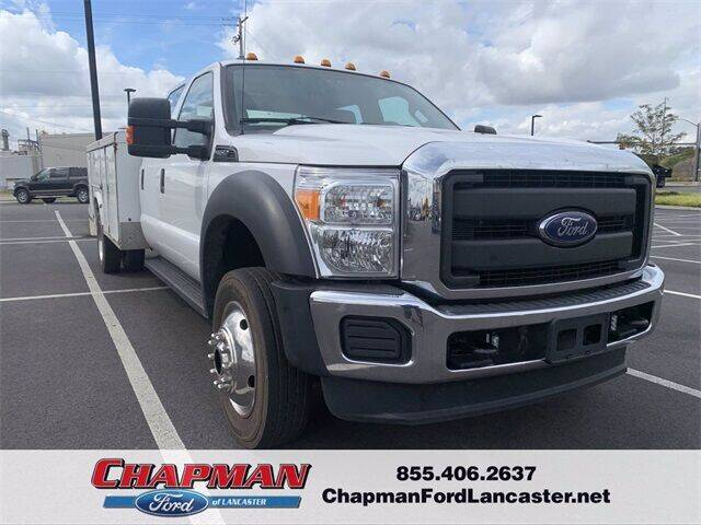 2016 Ford F-450 Super Duty for sale at CHAPMAN FORD LANCASTER in East Petersburg PA