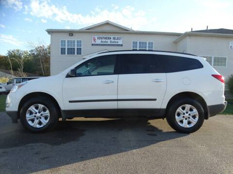 2012 Chevrolet Traverse for sale at SOUTHERN SELECT AUTO SALES in Medina OH