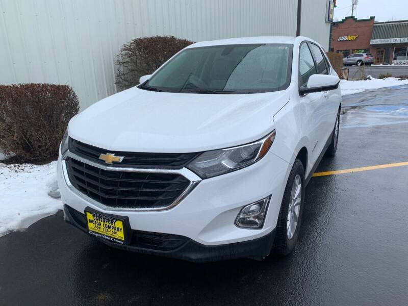2019 Chevrolet Equinox for sale at DAVENPORT MOTOR COMPANY in Davenport WA