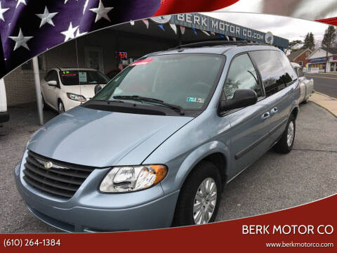 2006 Chrysler Town and Country for sale at Berk Motor Co in Whitehall PA